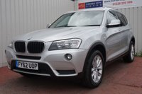 USED 2012 62 BMW X3 2.0 XDRIVE20D SE 5d 181 BHP DEALER FULL SERVICE HISTORY