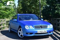 USED 2002 02 MERCEDES-BENZ CL 5.4 CL55 AMG 2dr LOW MILEAGE ONLY 85K FSH