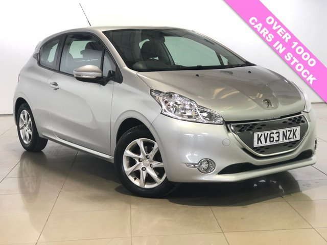 View our 2013 63 PEUGEOT 208 1.4 E-HDI ACTIVE 3d 68 BHP