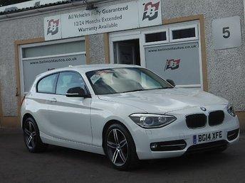 2014 BMW 1 SERIES 1.6 116I SPORT 3d 135 BHP £9999.00