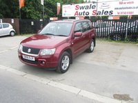 USED 2006 56 SUZUKI GRAND VITARA 1.9 DDIS 5d 128 BHP FINANCE AVAILABLE FROM £32 PER WEEK OVER 2 YEARS - SEE FINANCE LINK