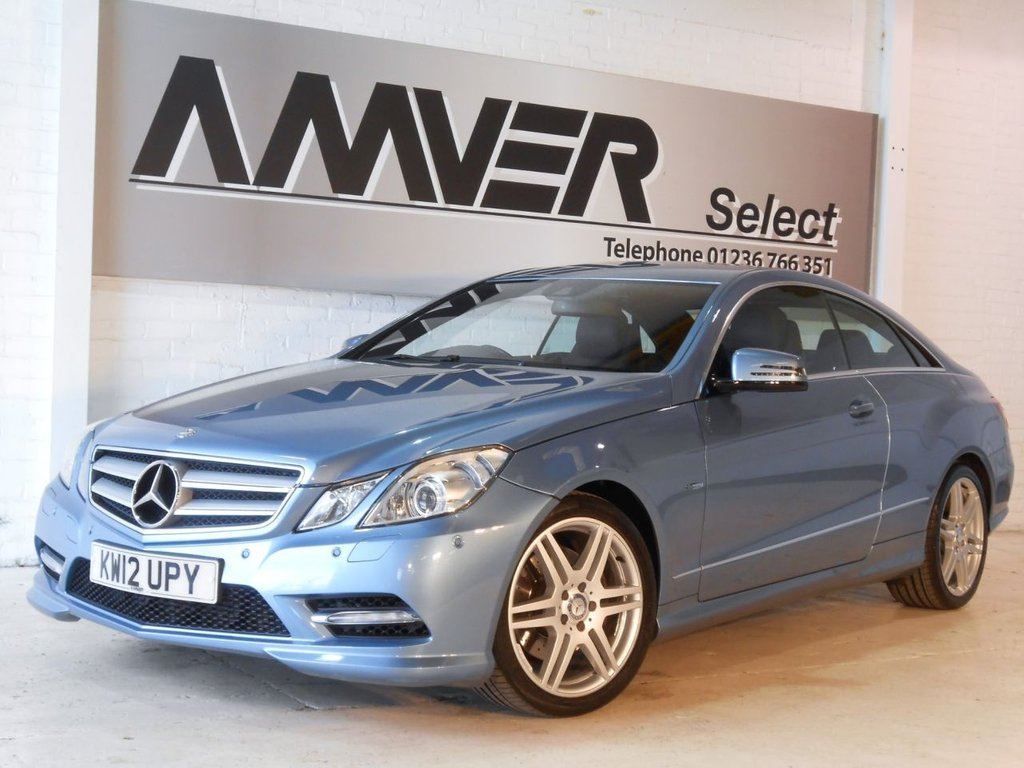 USED 2012 12 MERCEDES-BENZ E CLASS 2.1 E250 CDI BLUEEFFICIENCY S/S SPORT 2d AUTO 204 BHP