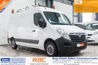 2011 VAUXHALL MOVANO 2.3 F3500 L2H2 CDTI 99 BHP *WORKSHOP RACKING INCLUDED* £7750.00
