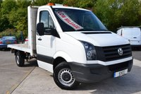 2012 VOLKSWAGEN CRAFTER 2.0 CR35 TDI 2d 136 BHP CPD BODIES FLAT BED WITH WINCH £7999.00