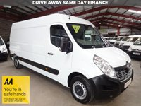 """USED 2015 65 RENAULT MASTER 2.3 LM35 LWB BUSINESS DCI S/R P/V 125 BHP--ONE OWNER """"YOU'RE IN SAFE HANDS"""" - AA DEALER PROMISE"""