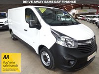 "USED 2016 16 VAUXHALL VIVARO 1.6 2900 LWB  L2H1 CDTI P/V 115 BHP -ONE OWNER - ""YOU'RE IN SAFE HANDS"" - AA DEALER PROMISE"