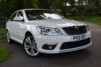 2012 SKODA OCTAVIA 2.0 VRS TFSI DSG 5d AUTO 198 BHP £9850.00