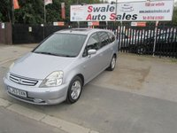 USED 2003 53 HONDA STREAM 2.0 SE SPORT 5d 155 BHP FINANCE AVAILABLE FROM £14 PER WEEK OVER TWO YEARS - SEE FINANCE LINK