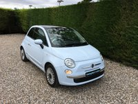 2009 FIAT 500 1.2 LOUNGE 3d 69 BHP £4990.00