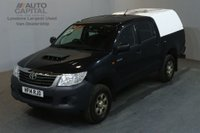 USED 2014 14 TOYOTA HI-LUX 2.5 ACTIVE 4X4 D-4D DCB 142 BHP AIR CON PICK UP £8,490+VAT AIR CONDITIONING