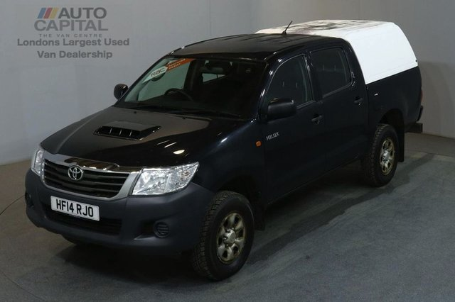 2014 14 TOYOTA HI-LUX 2.5 ACTIVE 4X4 D-4D DCB 142 BHP AIR CON PICK UP £8,490+VAT AIR CONDITIONING