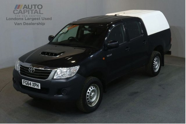 2014 64 TOYOTA HI-LUX 2.5 ACTIVE 4X4 D-4D DCB 142 BHP AIR CON PICK UP £9,490 PLUS VAT / LOW MILEAGE