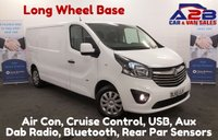 USED 2015 65 VAUXHALL VIVARO 1.6 2900 CDTI SPORTIVE 115  BHP Long Wheel Base, .Low Mileage 42365 Miles, Air Con, Bluetooth, Cruise Control, Ply-Lined. **Drive Away Today** Over The Phone Low Rate Finance Available, Just Call us on 01709 866668