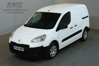 USED 2014 64 PEUGEOT PARTNER 1.6 HDI PROFESSIONAL L1 850 90 BHP AIR CON SWB VAN AIR CONDITIONING / ONE OWNER