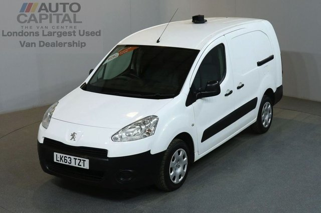 2013 63 PEUGEOT PARTNER 1.6 HDI S L2 750 5d 89 BHP MWB PANEL VAN ONE OWNER FULL SERVICE HISTORY