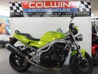 USED 1999 T TRIUMPH SPEED TRIPLE 955cc SPEED TRIPLE (955i)  ONLY 15,000 MILES!!