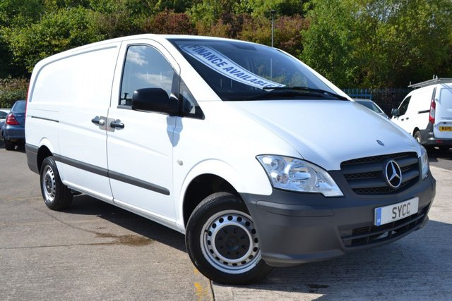 2014 64 MERCEDES-BENZ VITO 2.1 113 CDI 5d 136 BHP UP & OVER REAR DOOR