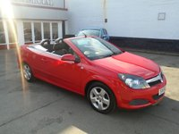 USED 2006 56 VAUXHALL ASTRA 1.6 TWIN TOP 3d 100 BHP