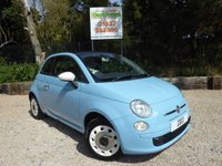 USED 2013 13 FIAT 500C 1.2 C COLOUR THERAPY 3dr Low Tax, Air Con.