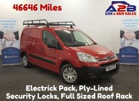 USED 2014 64 CITROEN BERLINGO 1.6 625 X HDI Low Mileage 46646 Miles, Roof Rack, Ply-Lined **Drive Away Today** Over The Phone Low Rate Finance Available, Just Call us on 01709 866668