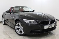 USED 2014 14 BMW Z4 2.0 Z4 SDRIVE20I ROADSTER 2DR 181 BHP FULL BMW SERVICE HISTORY + HEATED LEATHER SEATS + BLUETOOTH + PARKING SENSOR + CLIMATE CONTROL + MULTI FUNCTION WHEEL + RADIO/CD/USB + 17 INCH ALLOY WHEELS