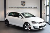 USED 2014 64 VOLKSWAGEN GOLF 2.0 GTI PERFORMANCE 3DR 227 BHP + BLUETOOTH + FULL VW SERVICE HISTORY + DAB RADIO + CRUISE CONTROL + HEATED MIRRORS + PARKING SENSORS + 18 INCH ALLOY WHEELS +