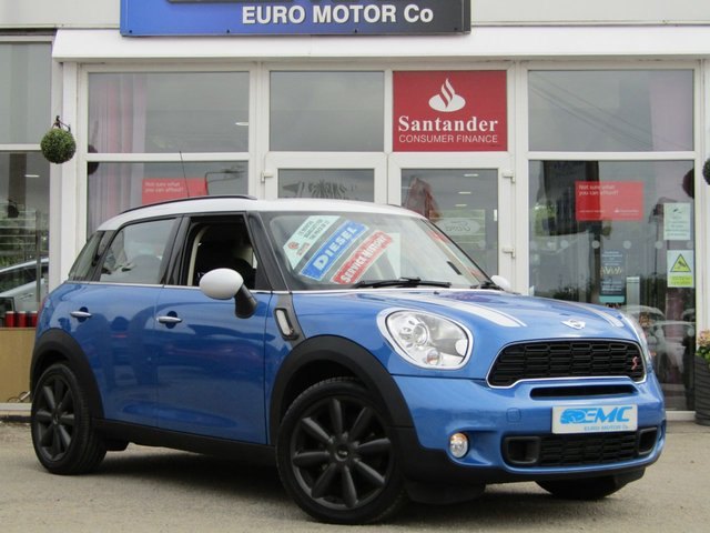 2013 J MINI COUNTRYMAN 2.0 COOPER SD 5d 141 BHP