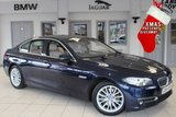USED 2015 64 BMW 5 SERIES 3.0 530D LUXURY 4d AUTO 255 BHP - full bmw service history  EXCLUSIVE FULL CREAM LEATHER SEATS + FULL BMW SERVICE HISTORY + PRO SATELLITE NAVIGATION + XENON HEADLIGHTS + LUXURY LINE + HEATED FRONT SEATS + BLUETOOTH + 18 INCH ALLOYS + DAB RADIO + PARKING SENSORS + CRUISE CONTROL