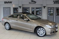 USED 2010 10 MERCEDES-BENZ E CLASS 3.0 E350 CDI BLUEEFFICIENCY SE 2d AUTO 231 BHP MERCEDES BENZ SERVICE HISTORY + FULL BEIGE LEATHER SEATS + COMAND SAT NAV + PANORAMIC SLIDING SUNROOF + HEATED FRONT SEATS + BLUETOOTH + 17 INCH ALLOYS + PARKING SENSORS