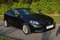 USED 2014 14 VOLVO V40 2.0 D3 SE LUX NAV 5d AUTO 148 BHP 1 FORMER FSH SAT NAV LEATHER HEATED SEATS CRUISE PARK AIDS