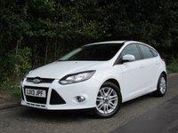 2013 FORD FOCUS 1.0 TITANIUM 5d 124 BHP £6995.00