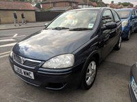 USED 2006 06 VAUXHALL CORSA 1.2 ACTIVE 16V TWINPORT 3d 80 BHP