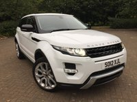 2012 LAND ROVER RANGE ROVER EVOQUE 2.2 SD4 DYNAMIC 5d 190 BHP £18495.00