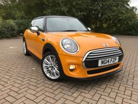 2014 MINI HATCH COOPER 1.5 COOPER 3d 134 BHP £9650.00