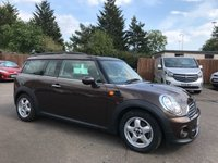 USED 2011 11 MINI CLUBMAN 1.6 COOPER 5d WITH AIR CONDITIONING AND ALLOY WHEELS  NO DEPOSIT  FINANCE ARRANGED, APPLY HERE NOW