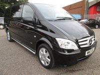 2013 MERCEDES-BENZ VITO 116 CDI DUALINER SPORT LONG 5 SEAT *AIR CON* £13495.00