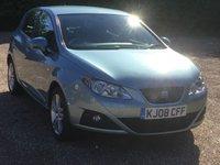 2008 SEAT IBIZA 1.4 SPORT 5d 85 BHP £3389.00
