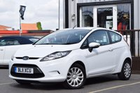 USED 2011 11 FORD FIESTA 1.2 EDGE 3d 59 BHP This Fiesta Will Be Serviced On Purchase With A Long MOT
