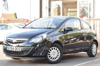 USED 2014 64 VAUXHALL CORSA 1.0 S ECOFLEX 3d 64 BHP Serviced On Sale With New Mot.£30 Year Road Tax. Low Insurance Group.