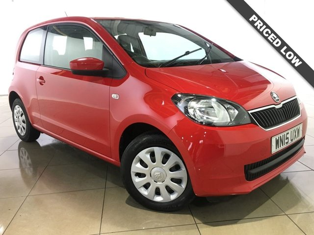 View our 2015 15 SKODA CITIGO 1.0 SE 12V 3d 59 BHP