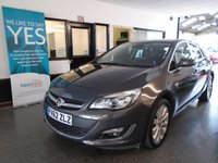 USED 2012 62 VAUXHALL ASTRA 1.7 SE CDTI ECOFLEX S/S 5d 130 BHP This Astra SE 1.7 CDTi is finished in Metallic Grey with Black 1/2 leather seats. It is fitted with remote locking, electric windows, mirrors, air conditioning (which is cold) cruise control, alloy wheels, CD Stereo with Aux port and more. It has been privately owned from new and been serviced regulary. Its advisory free Mot runs till November 2018, we will supply it with a service ,12 months MOT and 6 months warranty. and was carried out by Vauxhall. Finance and extended warranties available