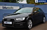 "USED 2013 63 AUDI A3 1.8 TFSI S LINE 5d 180 BHP Satellite Navigation, Upgraded 18"" Alloys, Part Leather Sport Seats, Heated Seats........"