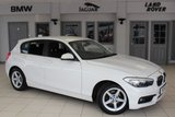 USED 2016 16 BMW 1 SERIES 1.5 116D ED PLUS 5d 114 BHP FULL SERVICE HISTORY + FREE ROAD TAX + SATELLITE NAVIGATION + BLUETOOTH + DAB RADIO + REAR PARKING SENSORS