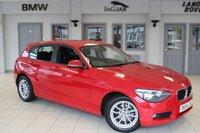 USED 2014 64 BMW 1 SERIES 2.0 116D SE 5d AUTO 114 BHP FULL BMW SERVICE HISTORY + £20 ROAD TAX + BLUETOOTH + DAB RADIO + RAIN SENSORS + AIR CONDITIONING