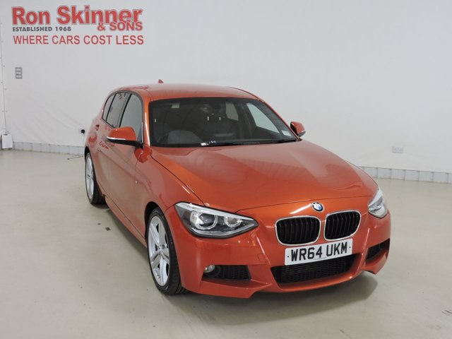 View our 2014 64 BMW 1 SERIES 2.0 118D M SPORT 5d 141 BHP