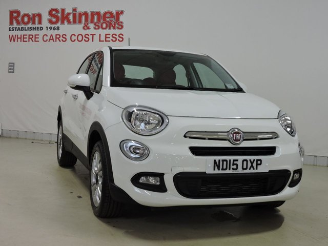 View our 2015 15 FIAT 500X 1.4 MULTIAIR POP STAR 5d 140 BHP