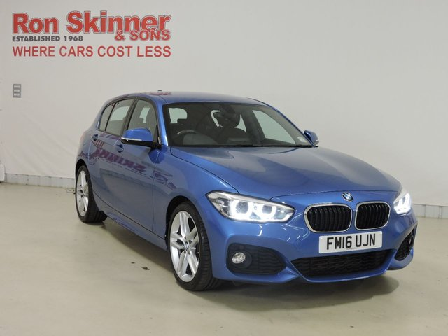 View our 2016 16 BMW 1 SERIES 1.5 118I M SPORT 5d 134 BHP