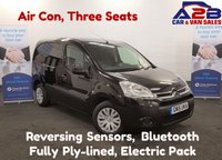 USED 2015 15 CITROEN BERLINGO 1.6 625 ENTERPRISE in Black, Air Con, Three Seats , Bluetooth, Reversing Sensors,  **Drive Away Today** Over The Phone Low Rate Finance Available, Just Call us on 01709 866668