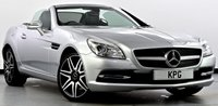 USED 2014 14 MERCEDES-BENZ SLK 2.1 SLK250 CDI BlueEFFICIENCY 7G-Tronic Plus (s/s) Black Leather, Bluetooth, DAB