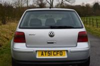 USED 2001 51 VOLKSWAGEN GOLF 2.3 VR5 5dr FSH VERY LOW MILEAGE ONLY 72K
